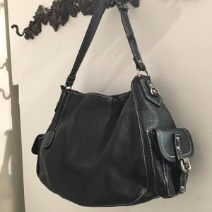Like new Dooney & Bourke black leather bag